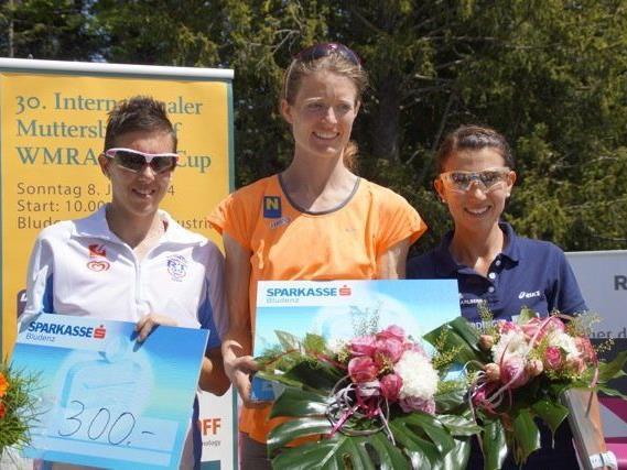 Die Dornbirnerin Sabine Reiner (r.) wurde sensationell Zweite am Muttersberg und ließ ihre Klasse aufblitzen.