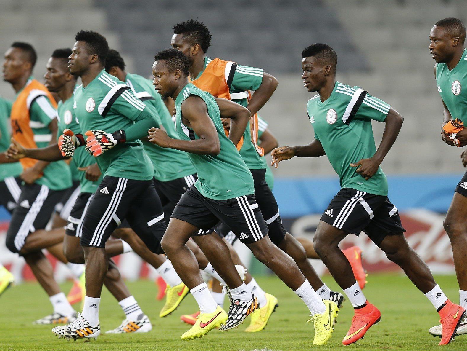 Nigeria peilt das WM-Viertelfinale an.