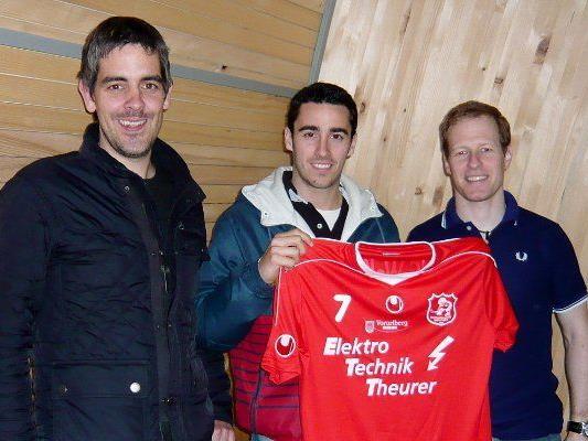 Der Spanier Marc Gasso spielt ab der neuen Saison für den RHC Wolfurt.