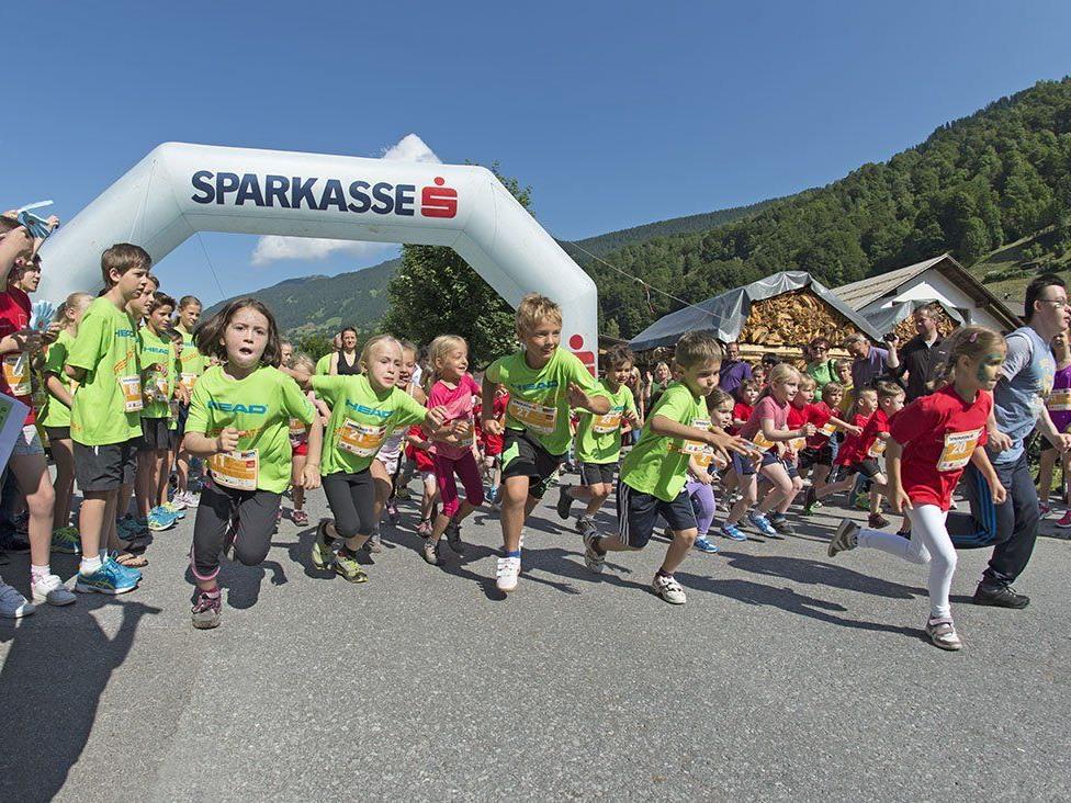 Panoramatrail in St. Anton am Arlberg und Vorarlberg >>bewegt Kinderlauf.