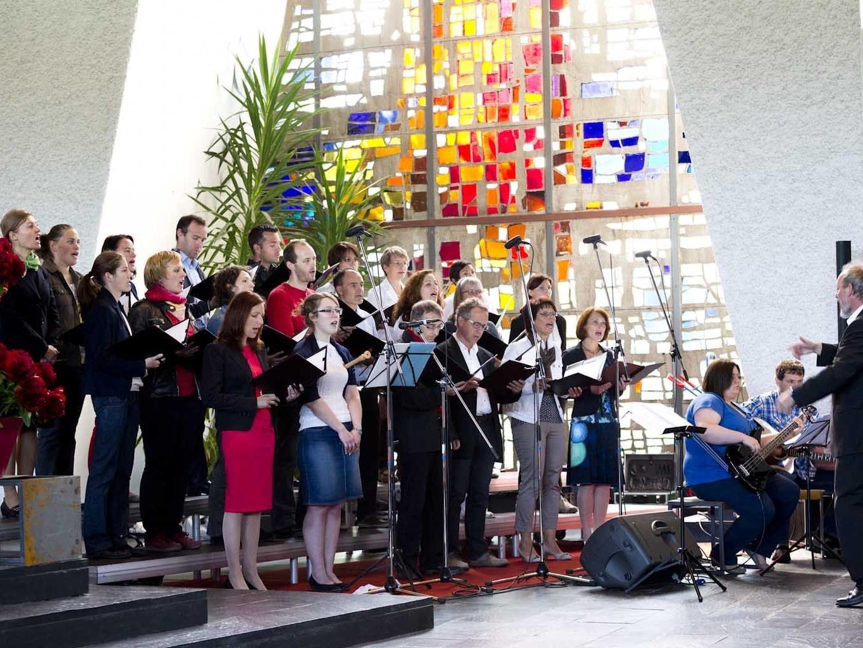 Chor Shalom begeistert jeweils bei kirchlichen Messen. Demnächst in Rankweil und Lingenau.
