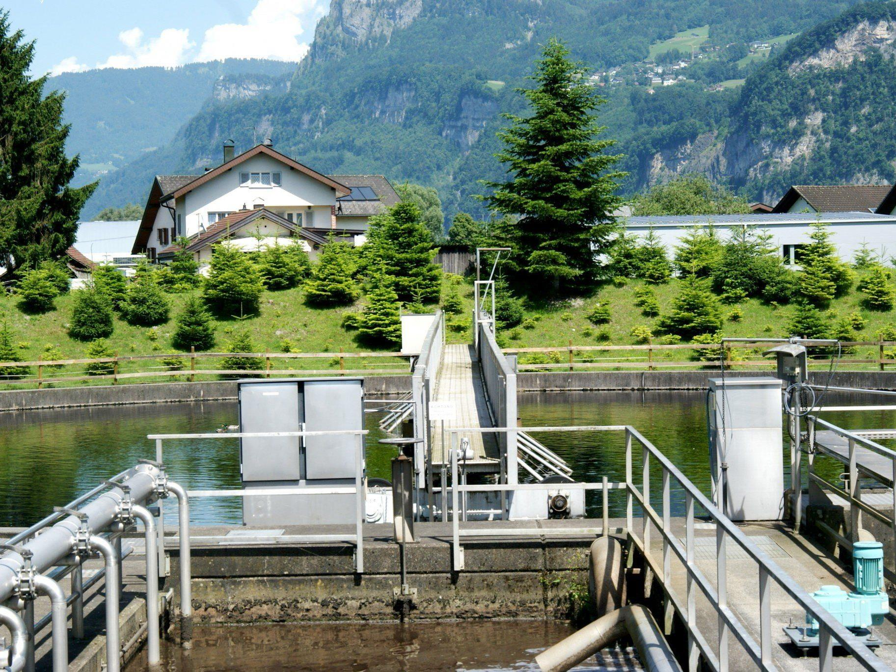 Die Klär / Abwasseranlage von Hohenems
