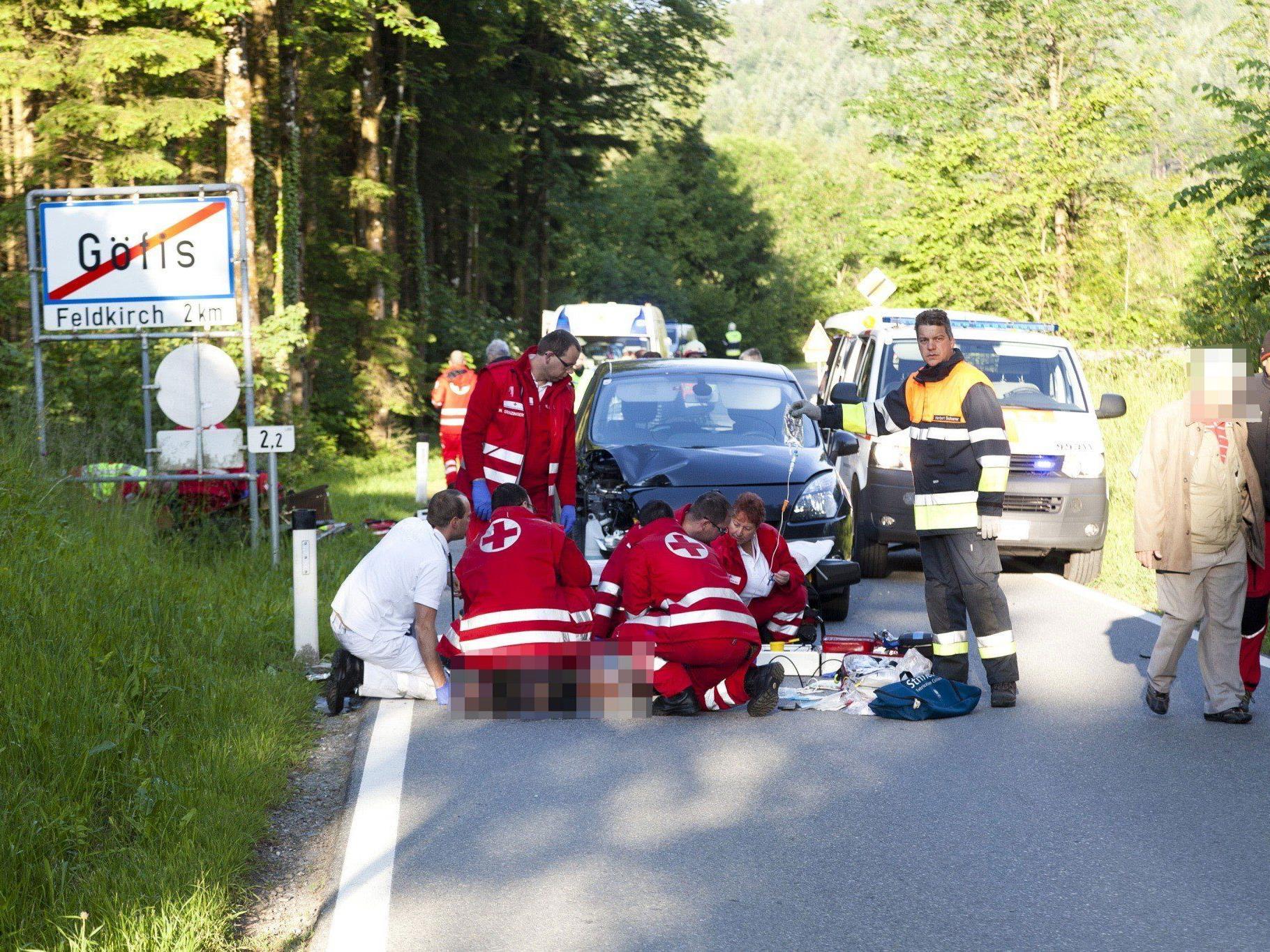 Einer der beiden Verletzten musste auf die Intensivstation.