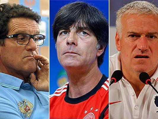 Nicht immer verdienen die WM-Trainer der Leistung ihrer Teams angemessene Gehälter.