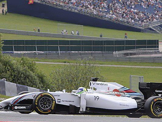 Brasilianer startet vor Bottas, erst dann kommt Rosberg als bester Mercedes.
