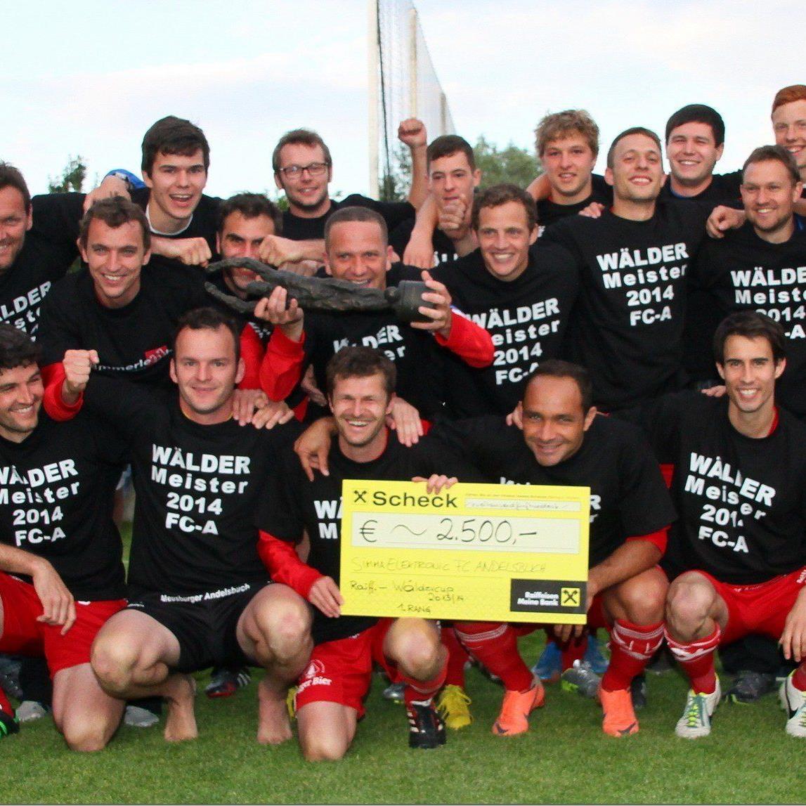 FC Andelsbuch ist der neue Champion vom Raiffeisen Wäldercup.