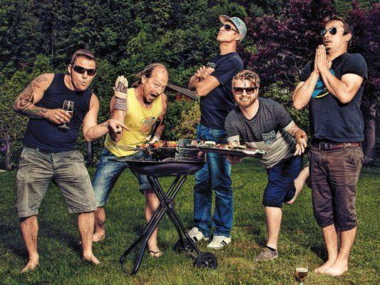 Georg, Christian, Philipp, Philipp und Johannes sorgen momentan auf YouTube für Furore.