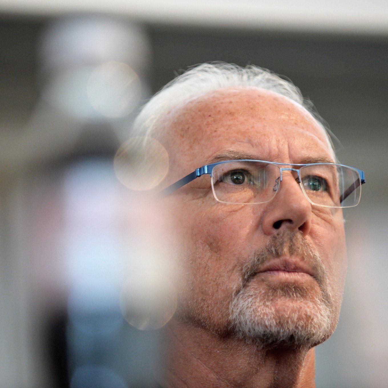 Franz Beckenbauer wurde von der FIFA für 90 Tage gesperrt.