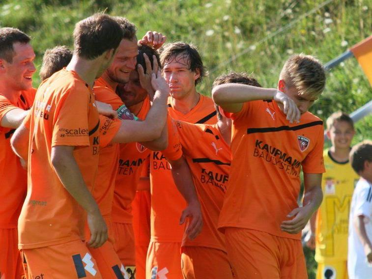 FC Bizau will am Samstag abend im Bergstadion seinen zweiten Meistertitel in der Vorarlbergliga feiern.