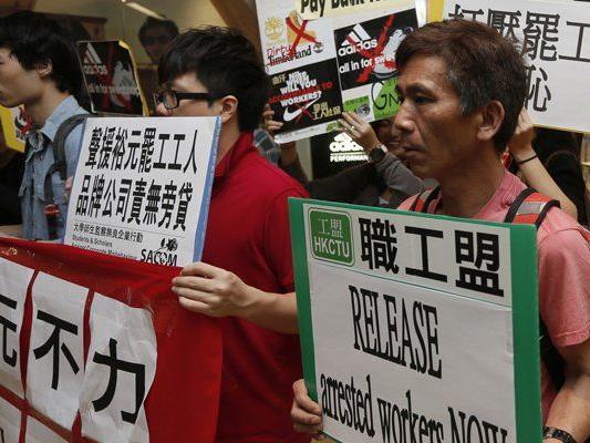 Immer wieder kommt es zu Streiks in Chinas Fabriken. (Symbolbild)