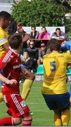 Thüringen 1b schafft den Aufstieg in die vierte Landesklasse mit zwei Siegen im Elferschießen.