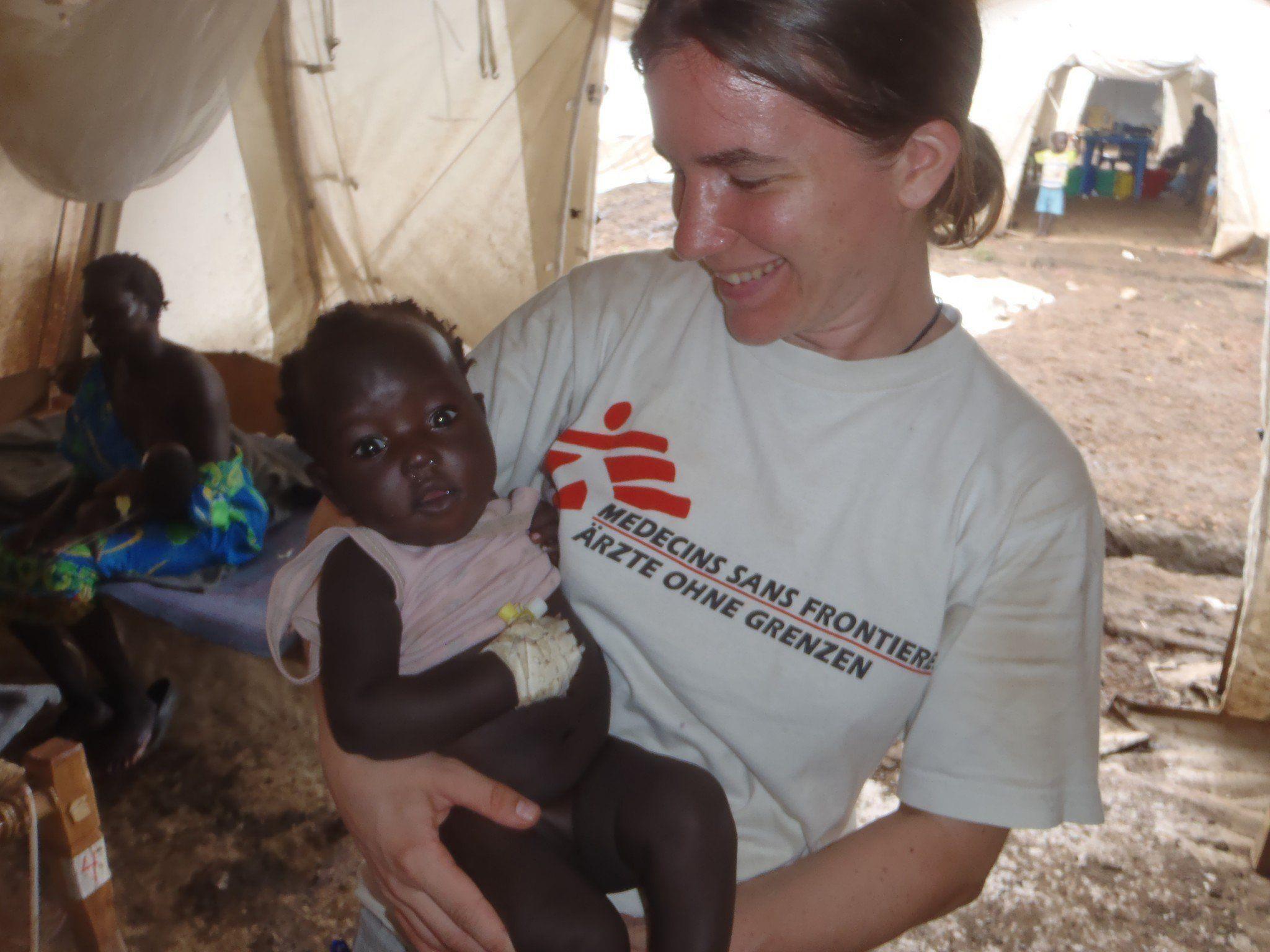 Cornelia Welte ist seit 2010 im Einsatz für Ärzte ohne Grenzen.