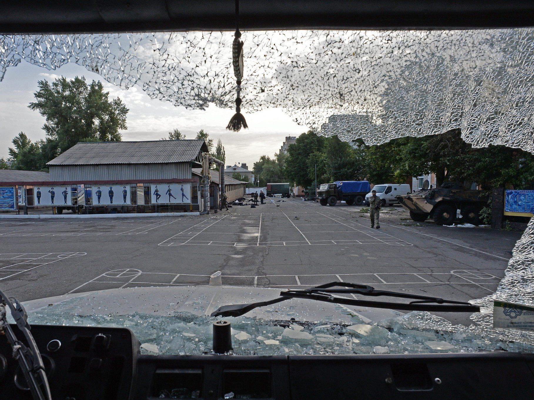 Seit dem Wahlsieg des designierten Präsidenten Petro Poroschenko hat die ukrainische Armee ihren Einsatz gegen prorussische Separatisten im Osten des Landes verstärkt.