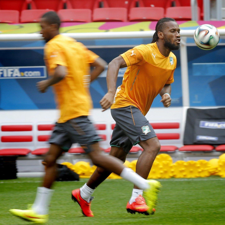 Didier Drogba wird das Match wohl wieder auf der Ersatzbank beginnen.