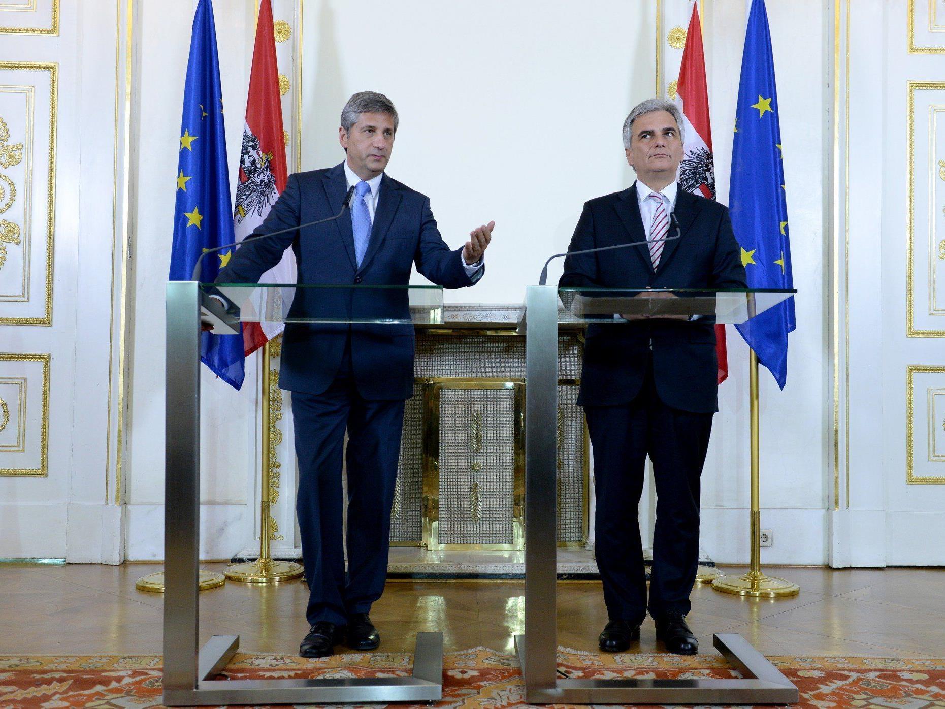 Diskussion um Steuerreform entzweit Koalition