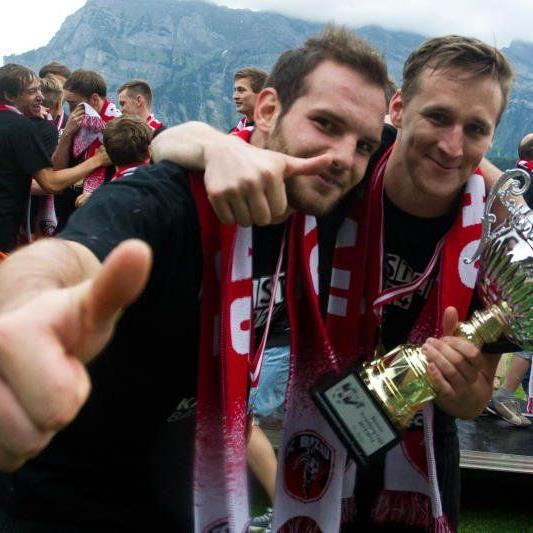 Bizau mit Tormann Marc Gasser spielt ab der neuen Saison erstmals in der Regionalliga West.