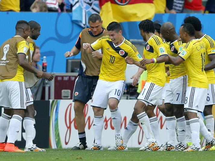 Die Elf von Kolumbien darf wieder tanzen
