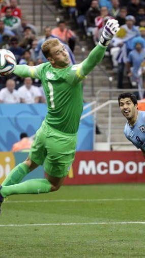 Suarez mit dem ersten seiner Treffer