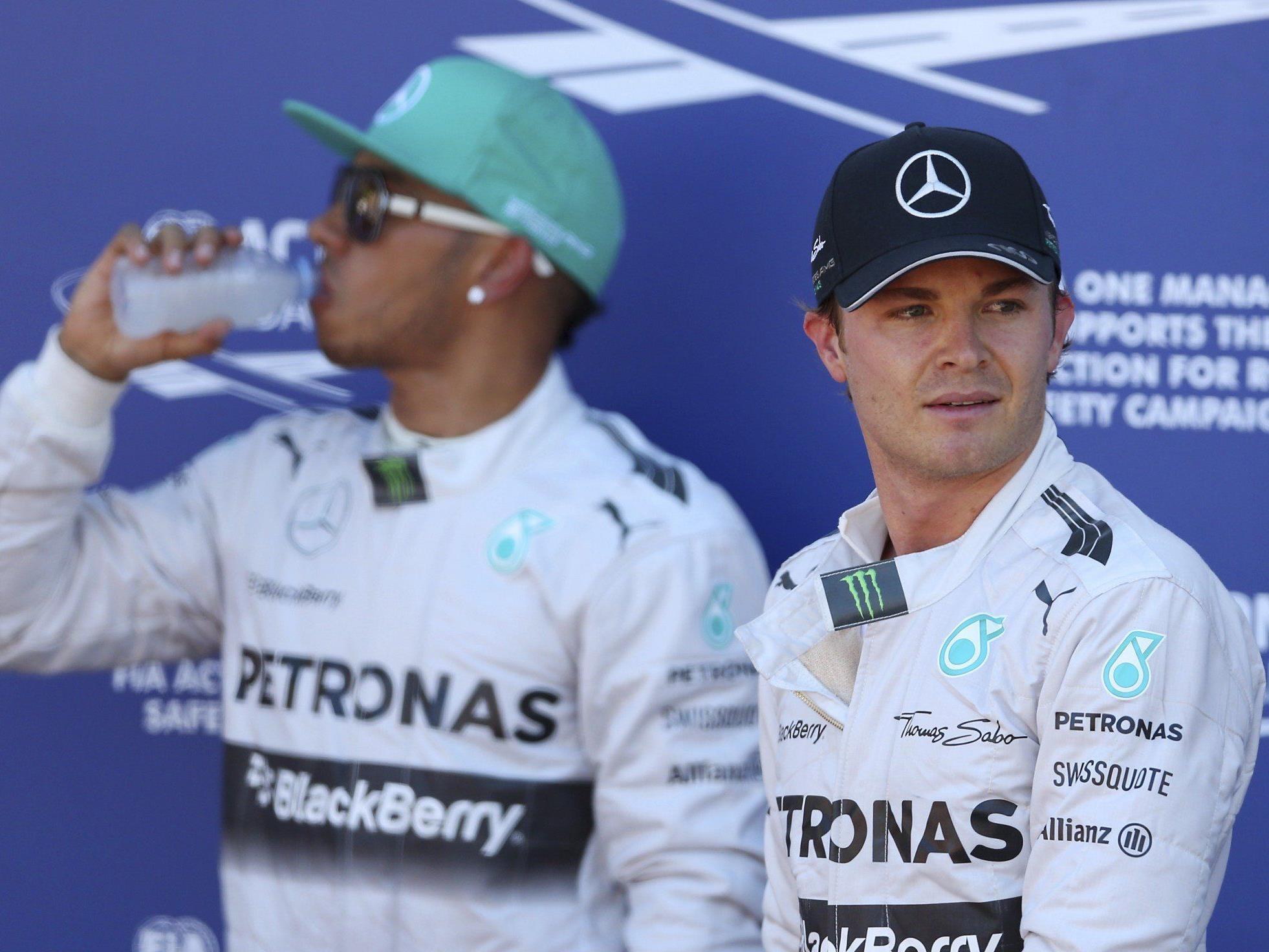 """Rosberg zum Kampf gegen Hamilton: """"Leichter, wenn es nicht der Teamkollege wäre"""""""