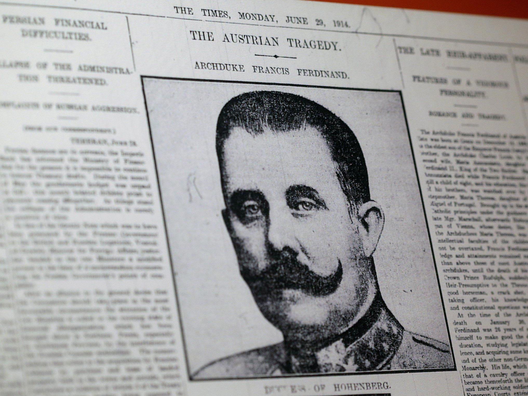 """Biograf: """"Zweifel, ob er moralisch und intellektuell für die vor ihm liegende Aufgabe gerüstet war"""""""