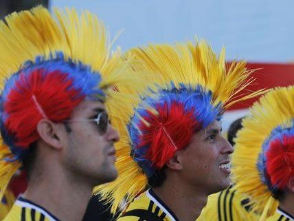 Die kolumbianischen Fans hatten am 13. Spieltag Grund zum Jubeln.