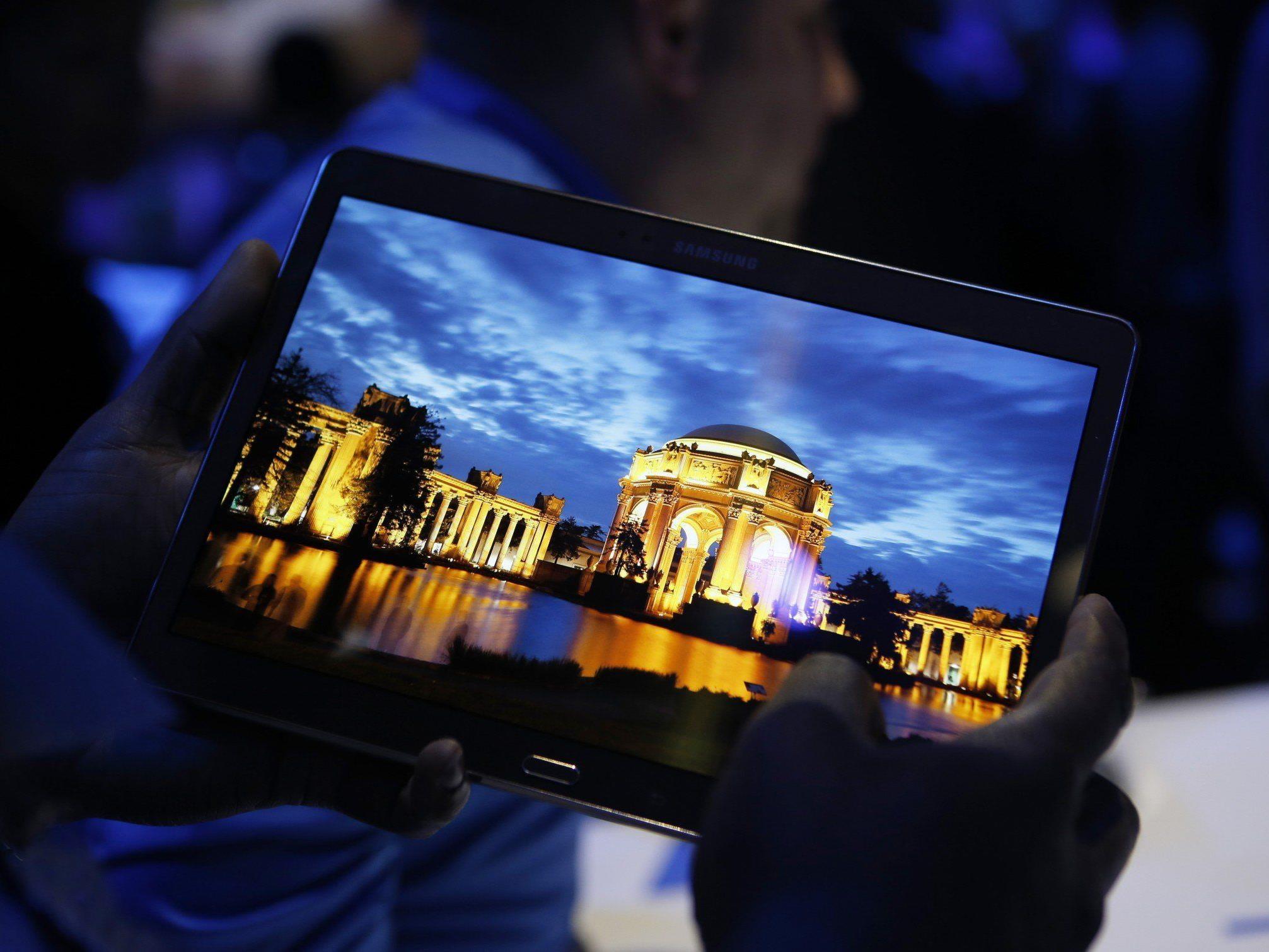 Samsung hat in der Nacht auf Freitag in New York die neuen Modelle der Serie Galaxy Tab S präsentiert.