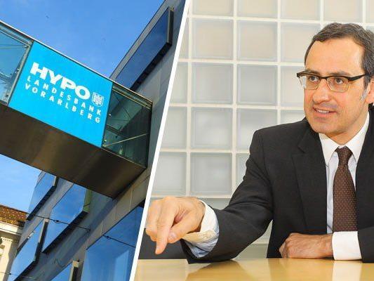 Hypo Vorarlberg-Chef Grahammer sieht seine Bank durch Inkompetenz in Wien torpediert.