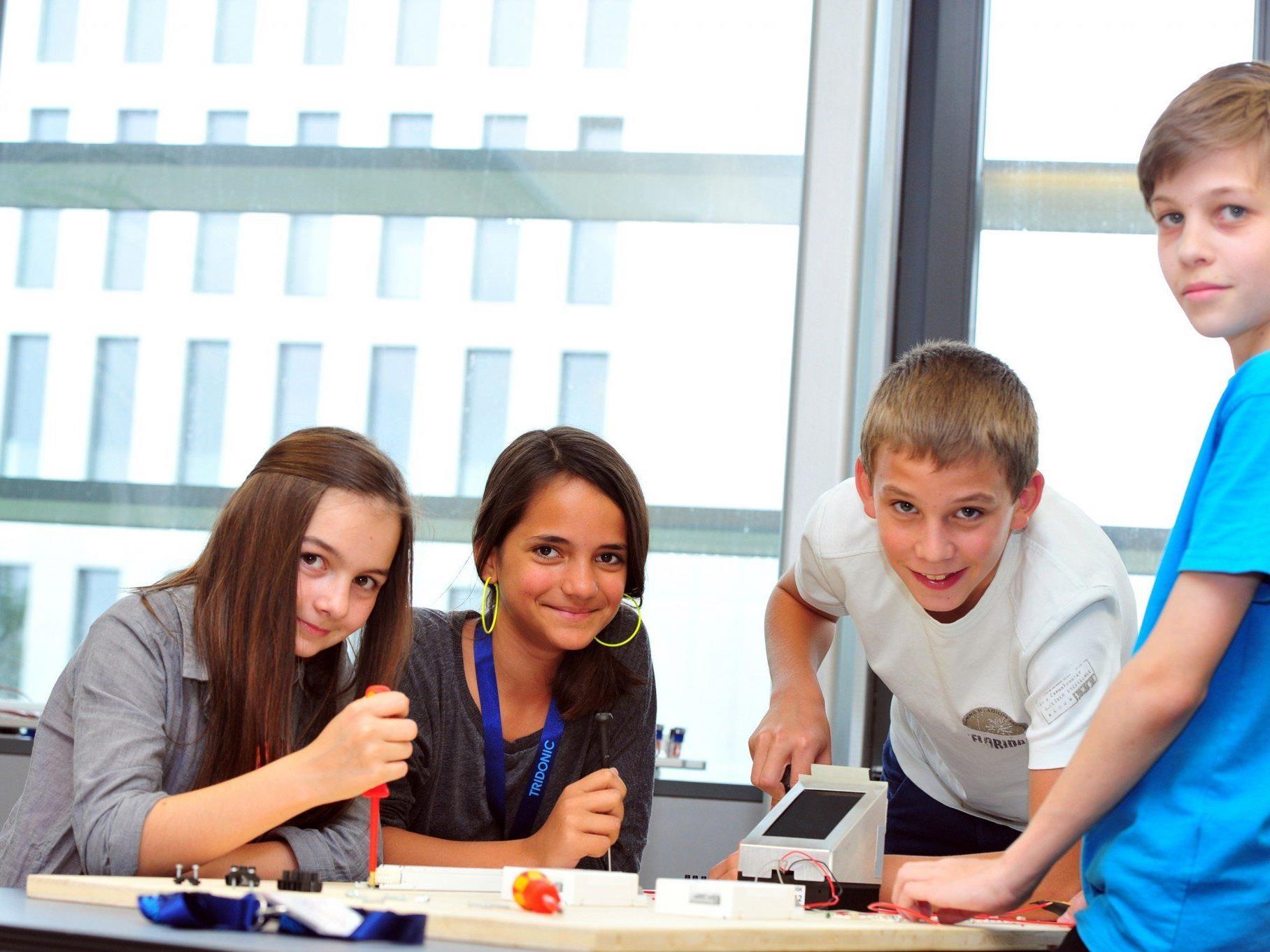 Beim Vorarlberger Zukunftstag werden wieder über 1000 Schüler/innen erwartet