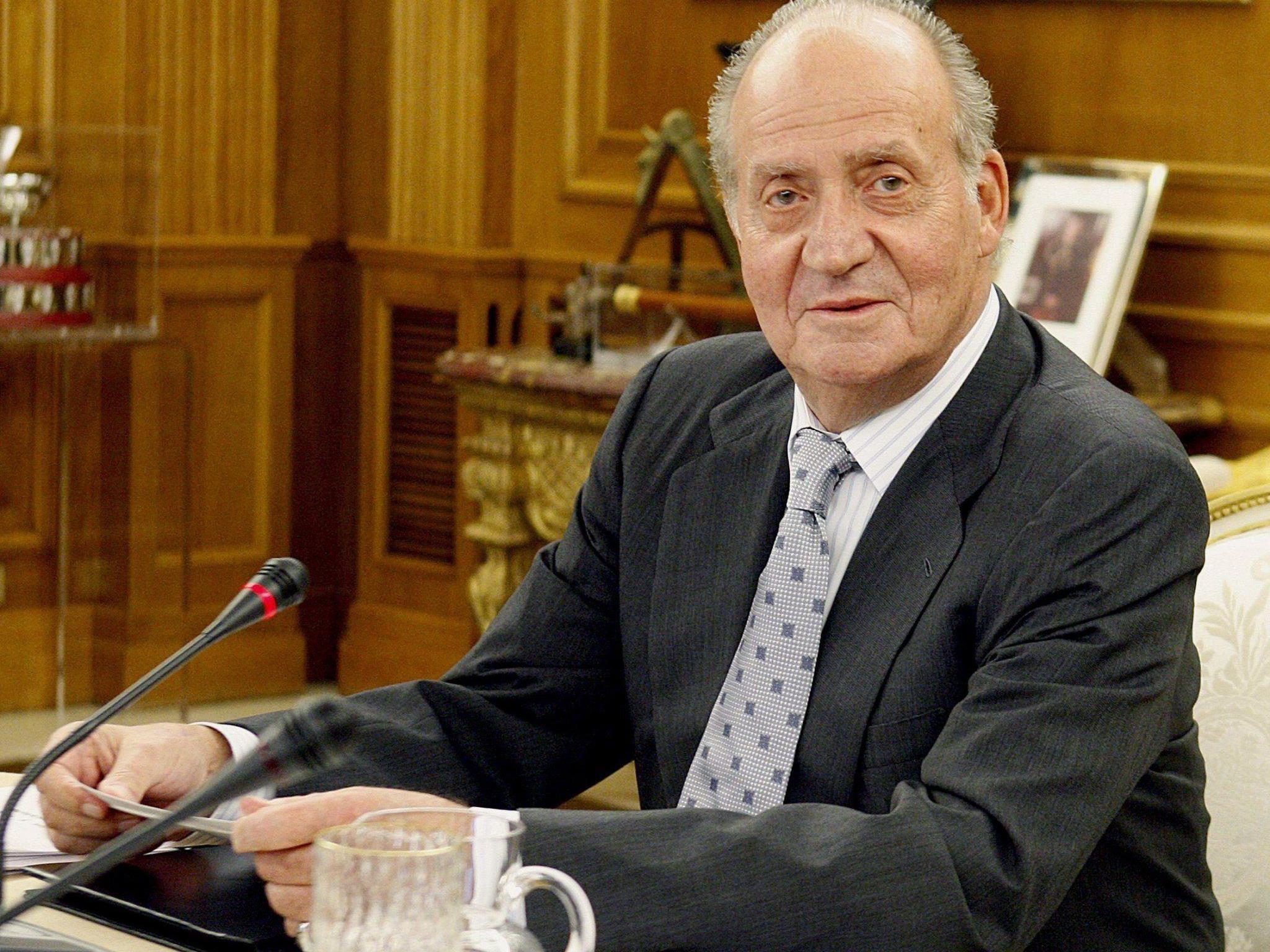 Juan Carlos I dankt ab