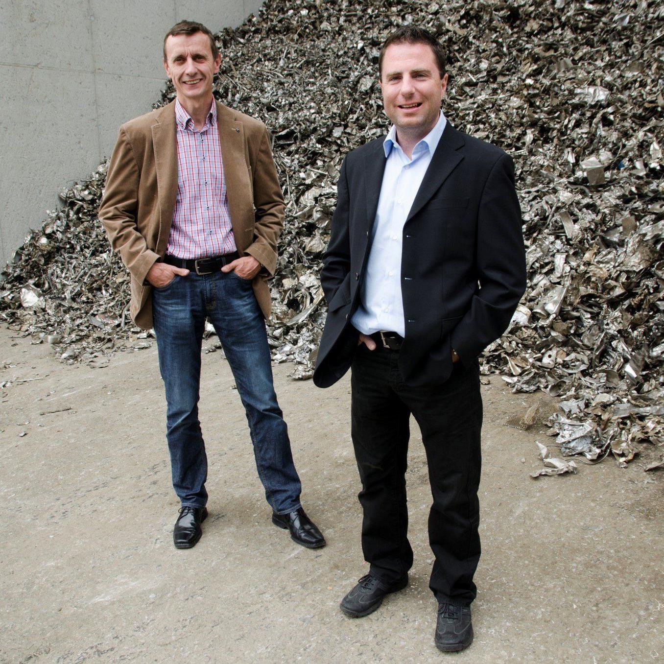 "Aus ""Die Entsorger"" wird die ""Loacker Swiss Recycling AG""."