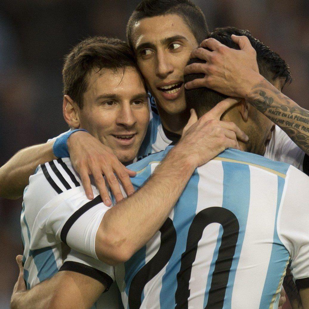 Alle hoffen auf Messi.