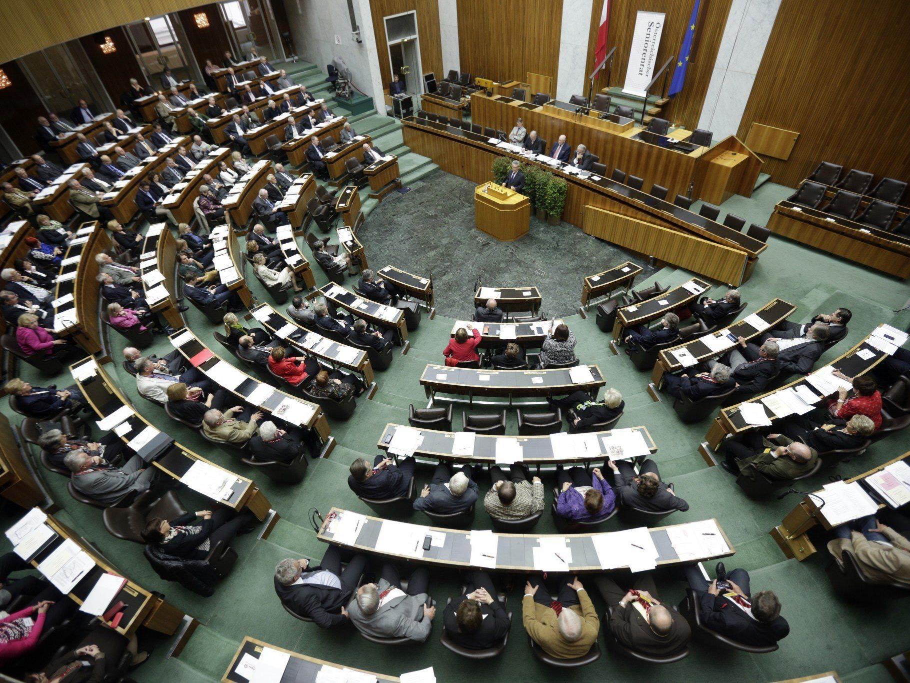 Die Deckelung von Luxuspensionen soll am Donnerstag im Nationalrat beschlossen werden.