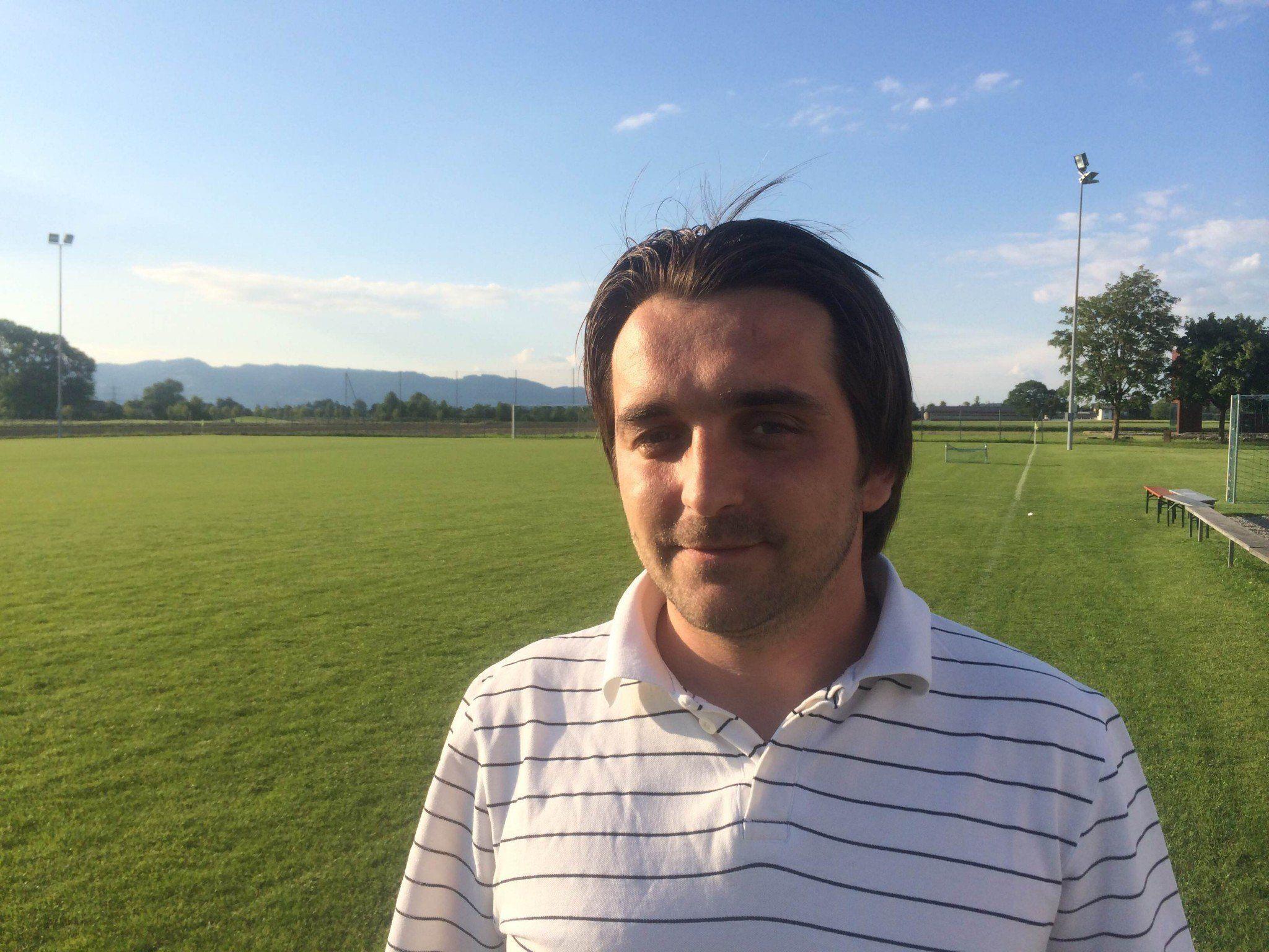 Adem Fazliu ist neuer Trainer beim SK Brederis.