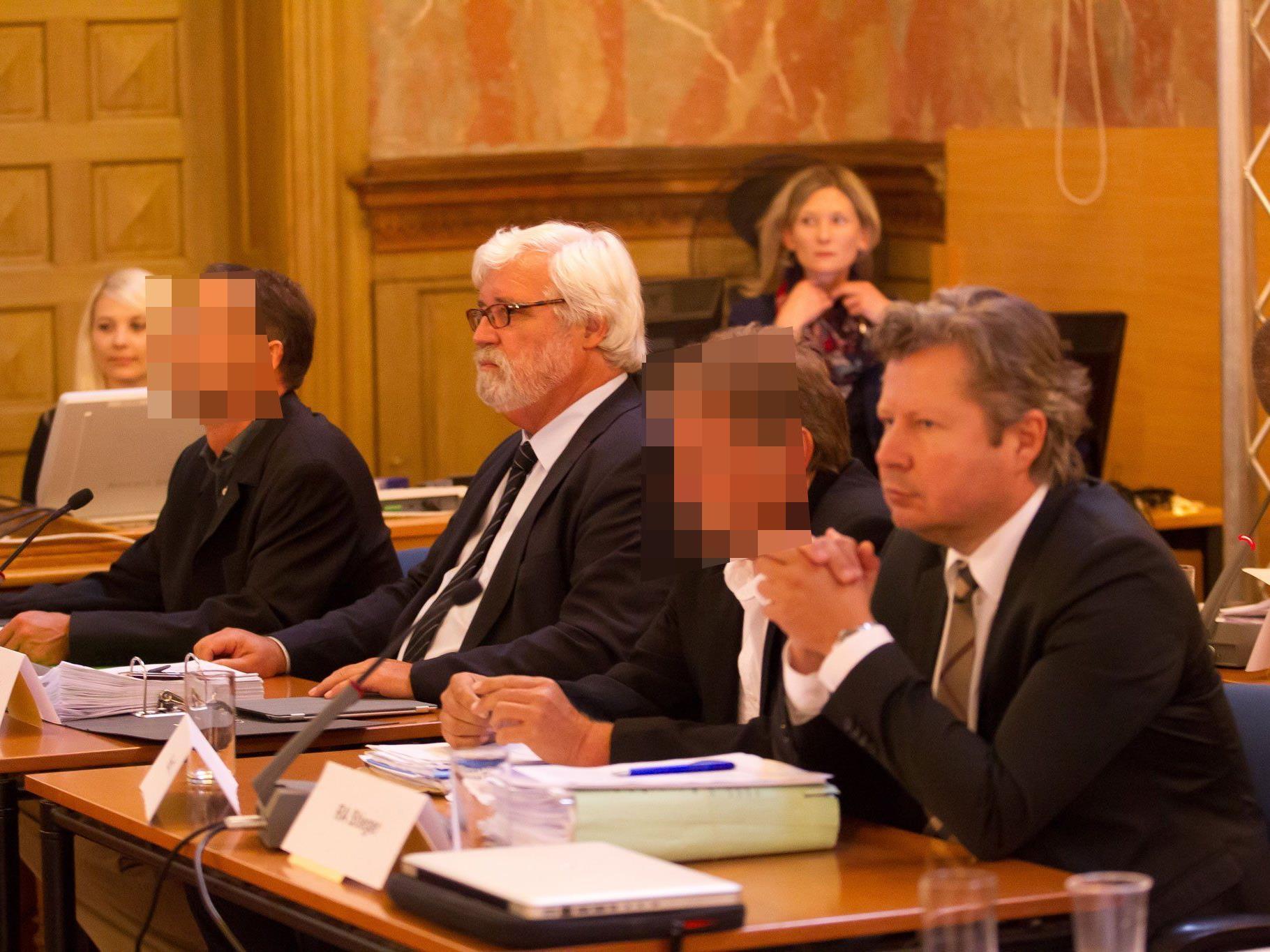 Jürgen H. und Kurt T. standen am ersten Prozesstag im Mittelpunkt.