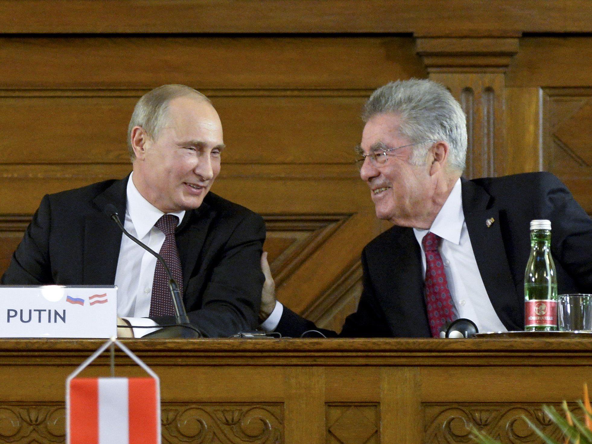 Darstellung Österreichs als Russland- und Putin-freundlich.