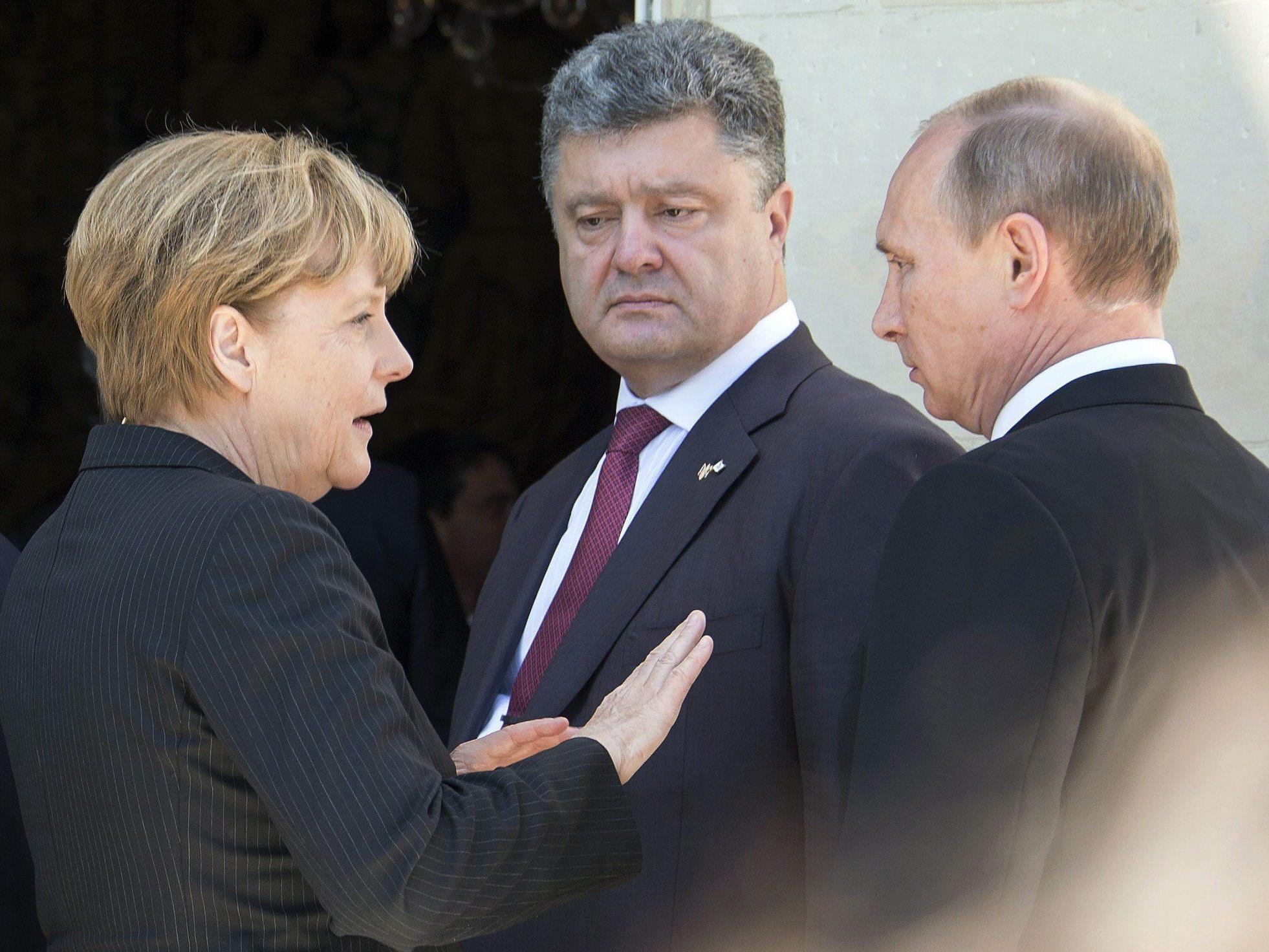 Ukraine-Krise: Erstes direktes Gespräch zwischen Putin und Poroschenko