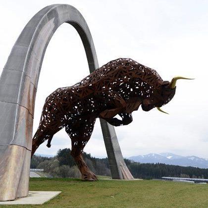 """Der """"Red Bull Ring"""" ist der Gastgeber des Großen Preis von Österreich."""