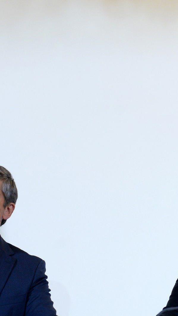 Ungewöhnlich heftiger Schlagabtausch zwischen Kanzler und Vizekanzler um Steuerreform.