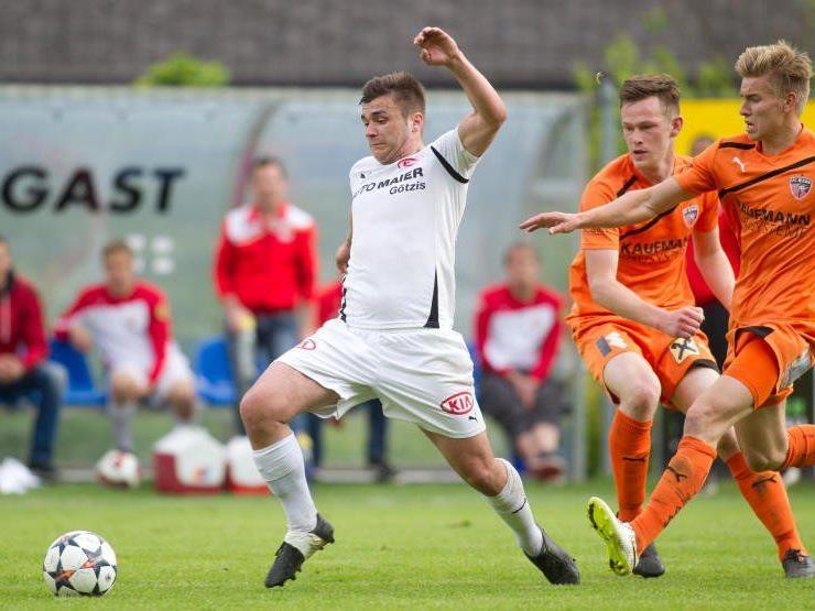 Dejan Stanojevic schoss zwei Tore beim 4:0-Auswärtserfolg von Egg in Bizau.