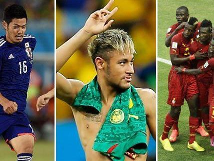 Die WM-Teams haben ihre persönlichen, kreativen Spitznamen.