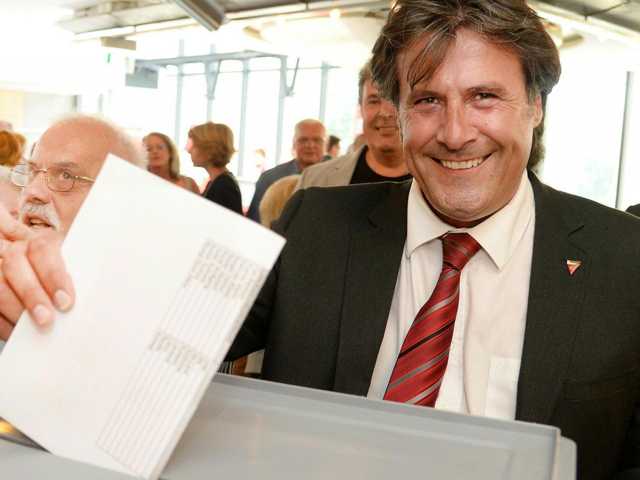 Ingo Mayr mit 90,7 Prozent zum neuen Tiroler SPÖ-Vorsitzenden gewählt