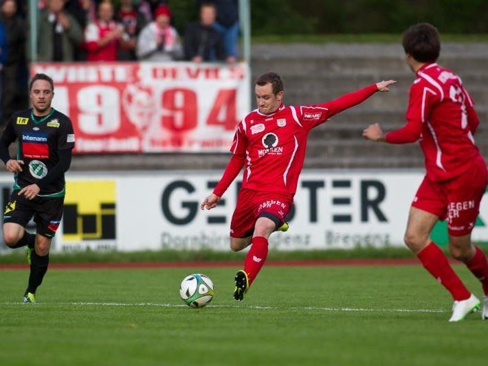 Pascal Breitenberger trifft mit Dornbirn auf seinem Stammklub Hohenems.