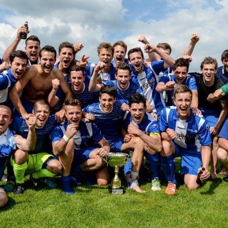 SC Hohenweiler wurde Meister der 3. Landesklasse und feierte den Wiederaufstieg.