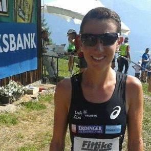 Die Dornbirnerin Sabine Reiner wurde Zweite bei der Berglauf-ÖM in Gaal.