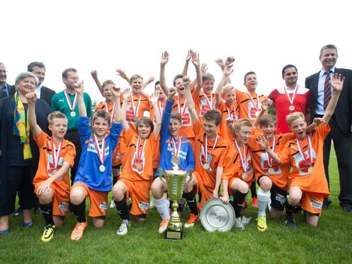 Das 39. Sparkasse Fußball Schülerliga Finale geht am Mittwoch auf der Rankweiler Gastra in Szene.