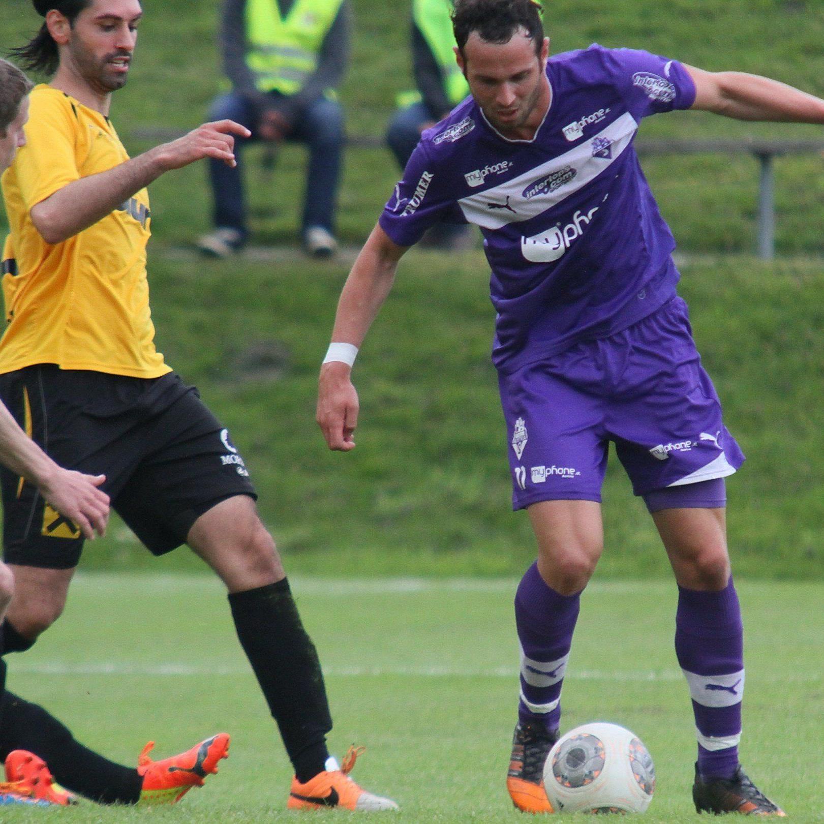 Der Koblacher Lukas Katnik will mit Austria Salzburg in die Erste Liga aufsteigen.