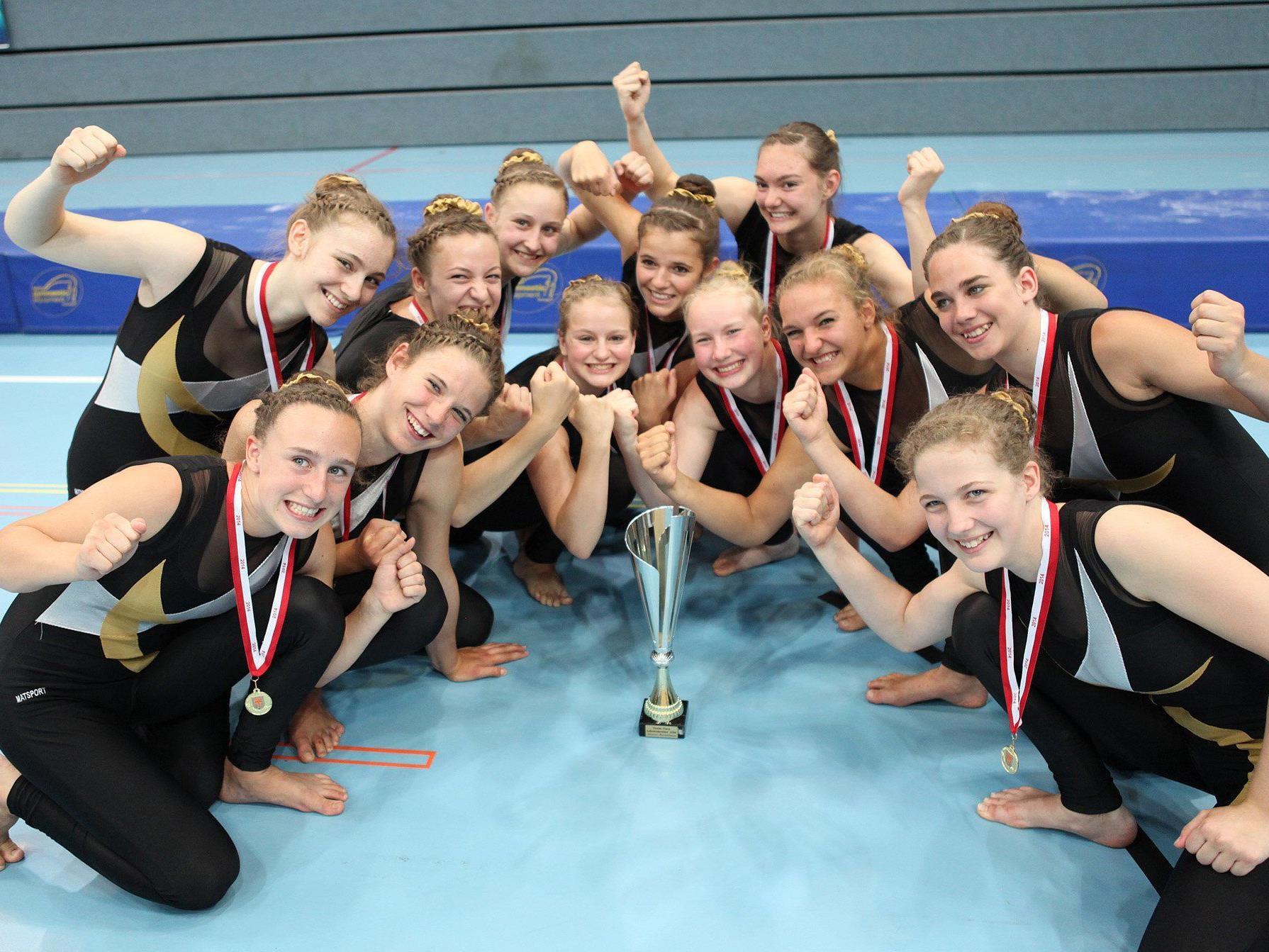 TSZ Dornbirn ist Meister in der Juniorenklasse.