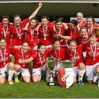 Zum dritten Mal in Folge wurde RW Rankweil VFV Cupsieger der Frauen.