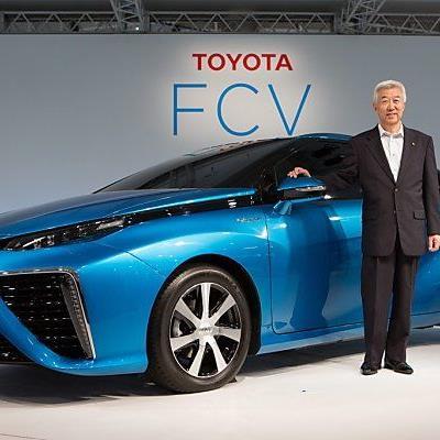 Toyota drückt beim Brennstoffzellenauto auf die Tube.