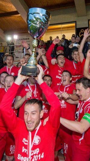 Dritter Pokalsieg für den FC Dornbirn in den letzten vier Jahren.